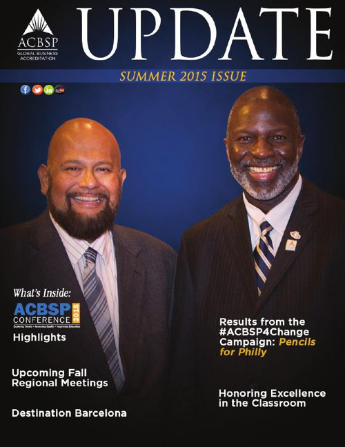 ACBSP Update - Summer 2015