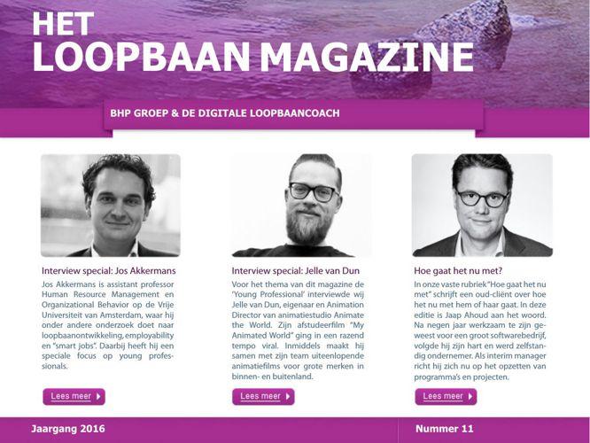 Het Loopbaan Magazine: 11e editie, de Young Professional