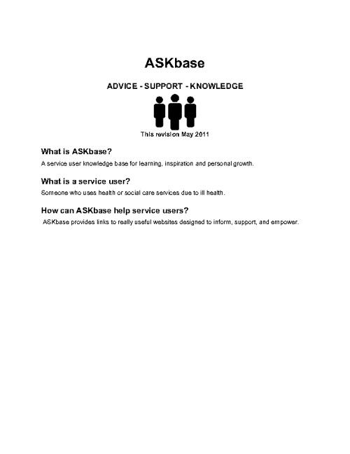 ASKbase FAQ Directory