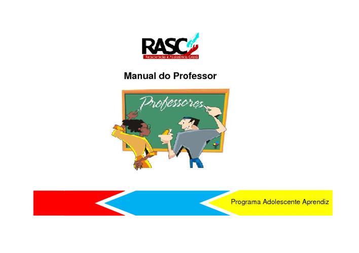 Manual do Professor - RASC