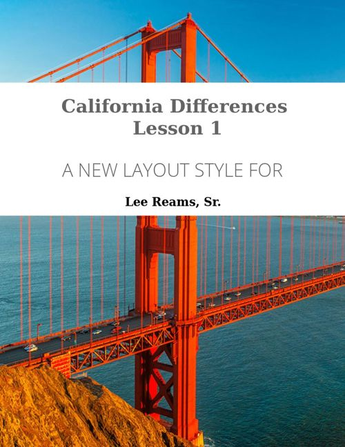 CPE070-16 California Differences - Lesson 1