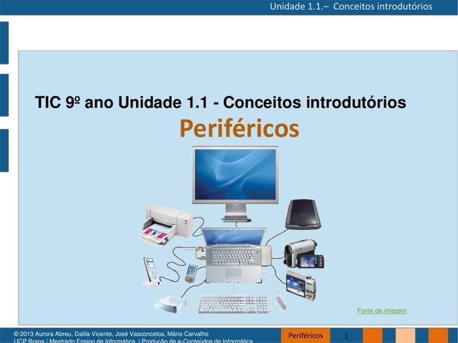 TIC 9º - Periféricos