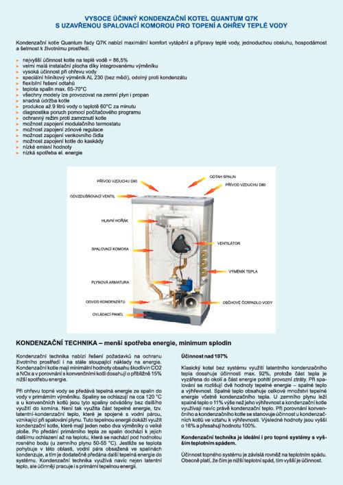 Kondenzační kotel Q7K