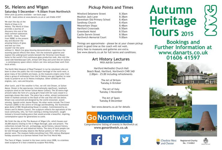 Autumn Tours 2015 Brochure