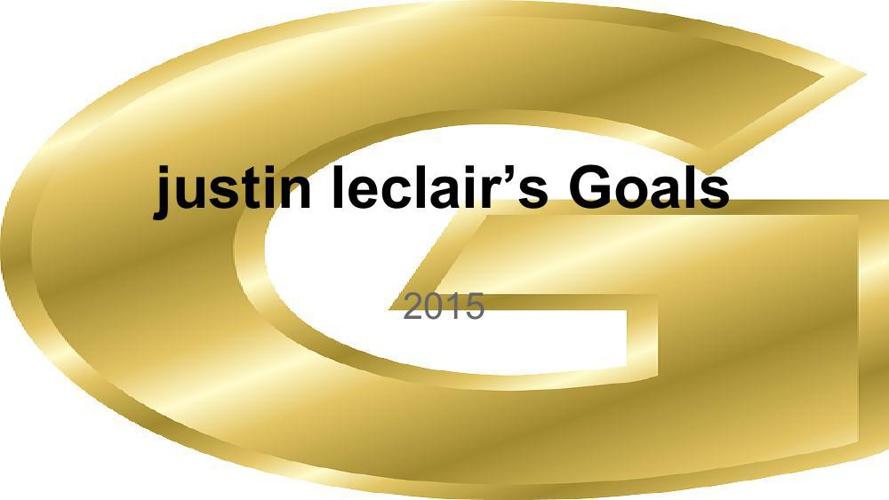 justin leclairs goals