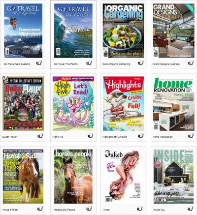 eMagazine Titles