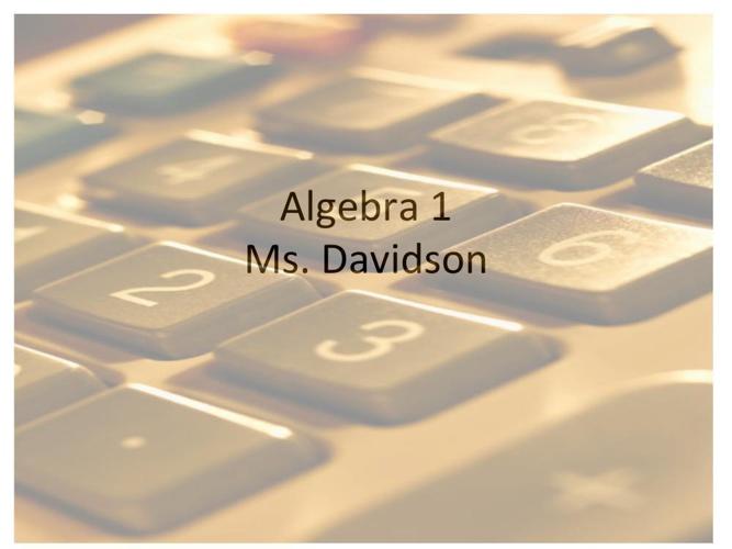 Algebra 1 Foiling 2