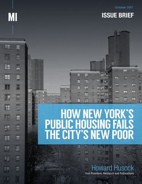 How New York's Public Housing Fails the City's New Poor