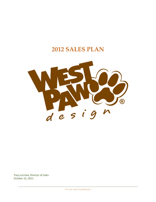 Sales Plan