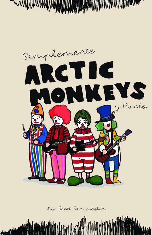 Libro - Simplemente Arctic Monkeys y punto
