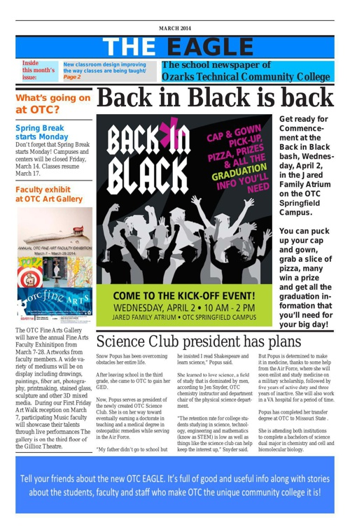 The Eagle March 2014