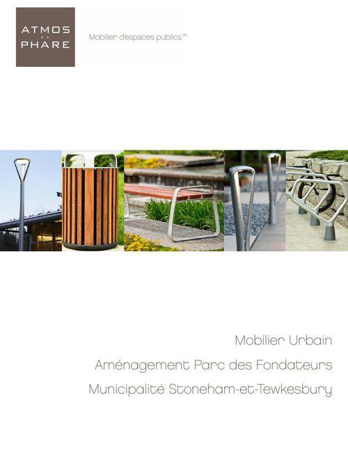 Mobilier_Parc Chemin St-Marc_Ville de St-Anselme