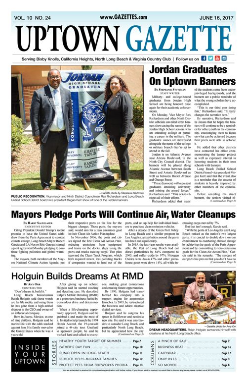 Uptown Gazette  |  June 16, 2017