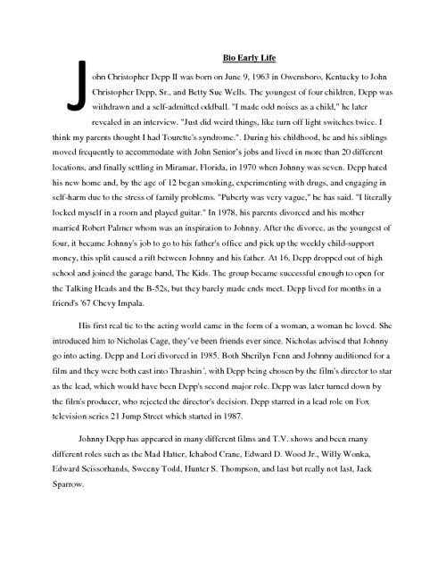 Johnny Depp By Brenna Lahren