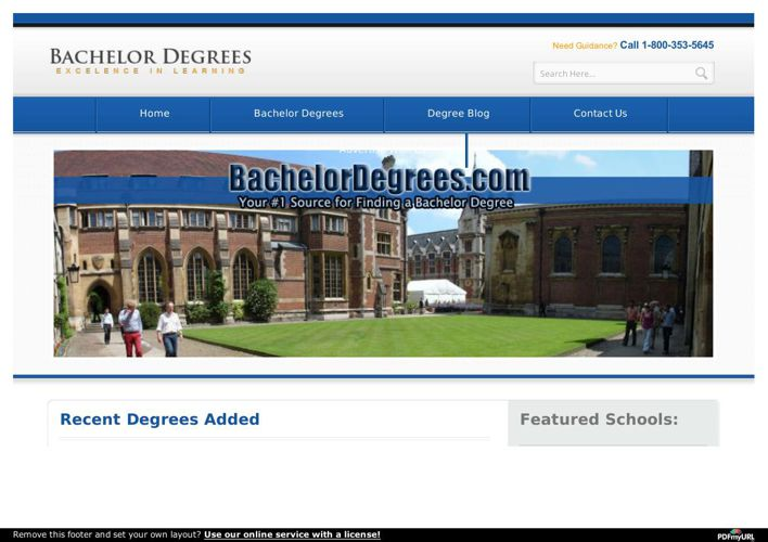 Bachelor Degrees Learn About Various Degrees &amp Get Your Desir