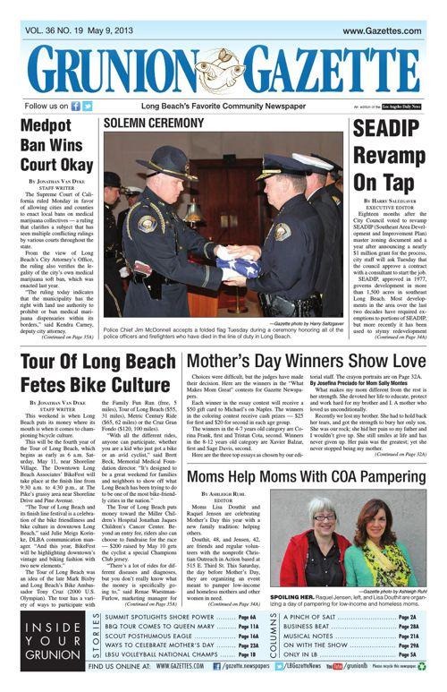 Grunion Gazette | May 9, 2013