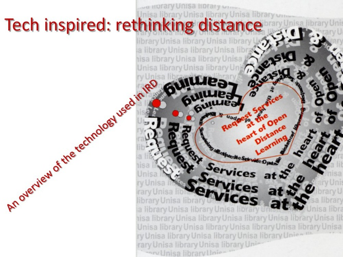 Tech inspired : rethinking distance