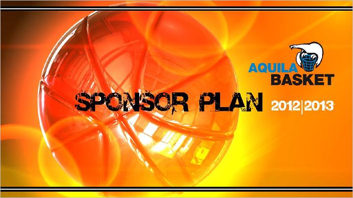 Aquila Basket Sponsor Plan 2012-2013