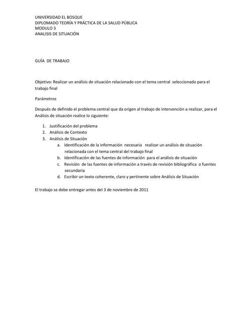 Guía de Trabajo ASIS