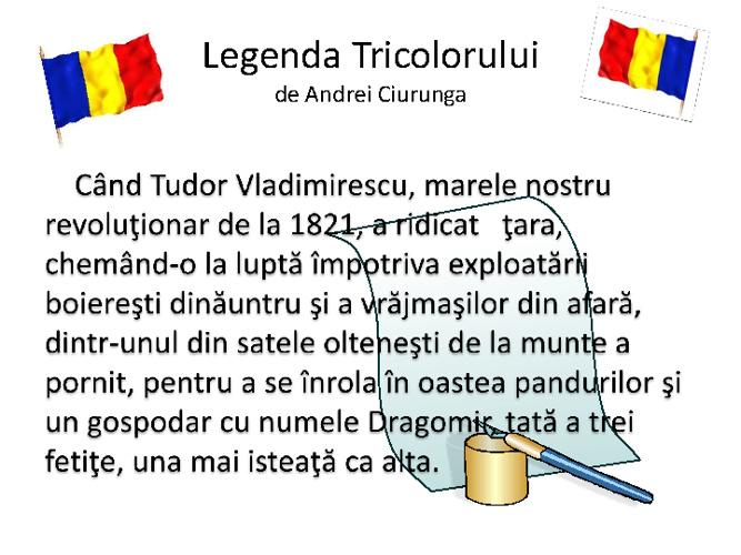 Legenda Tricolorului