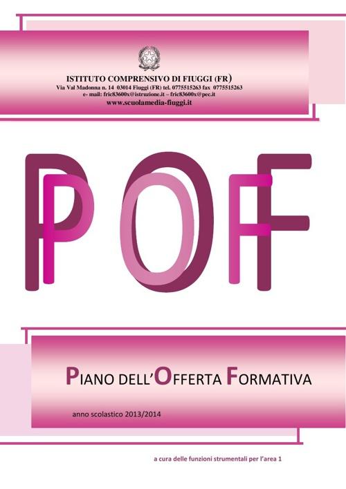 POF 2013/2014 I.C. Fiuggi-Acuto