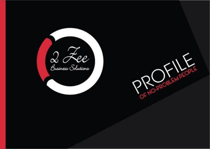 2 Zee Profile Book
