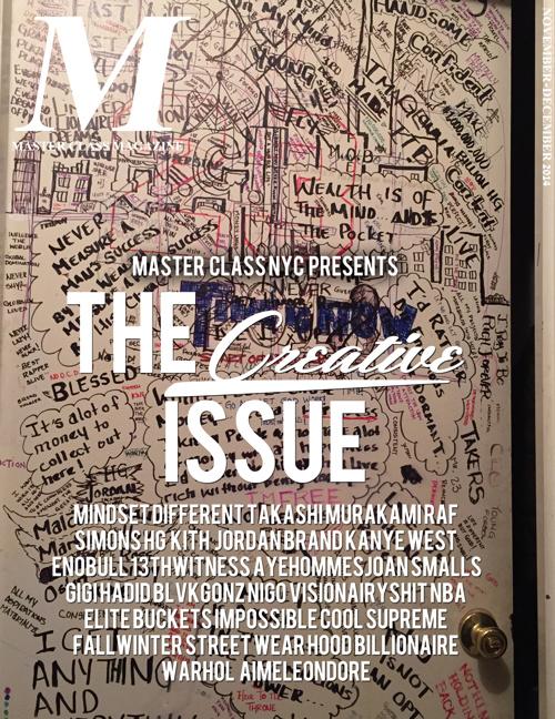 M MAGAZINE: THE CREATIVE ISSUE