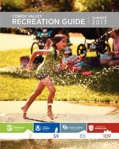 Comox Community Centre Summer 2017 Recreation Guide