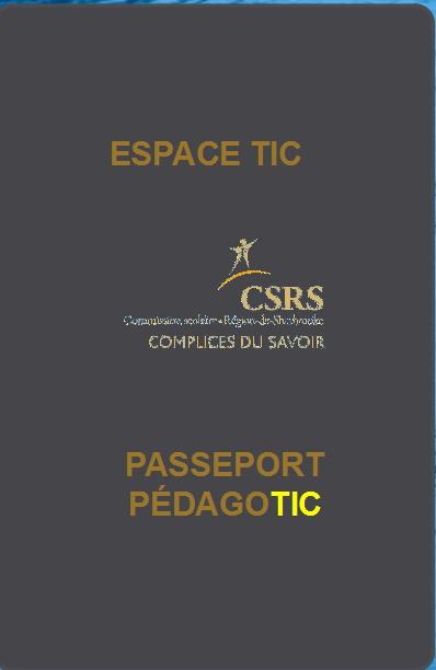 Passeport PédagoTIC