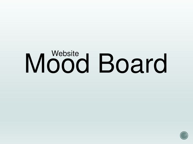 Website Design Mood Board