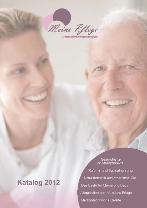 Meine Pflege Katalog 2012