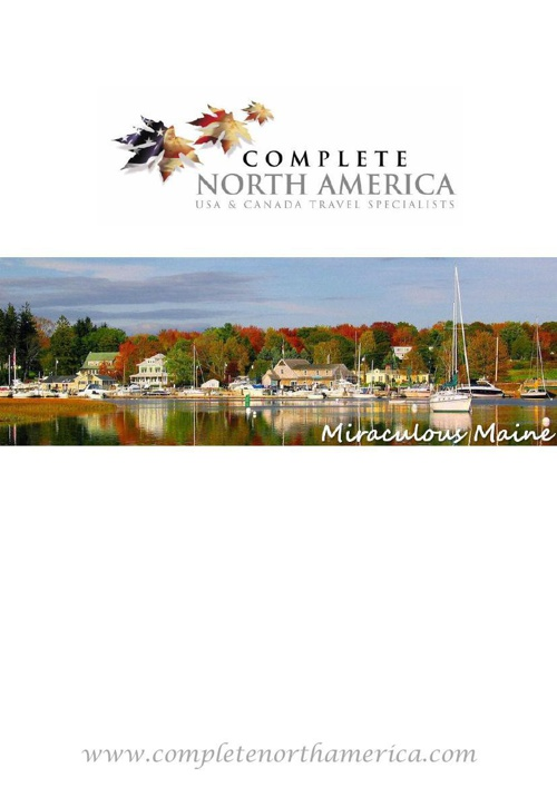 Miraculous Maine Brochure