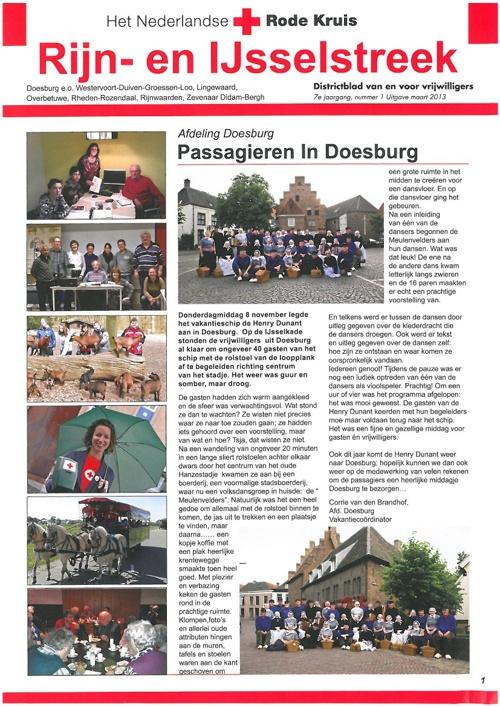 Districtsblad Rijn- en IJsselstreek maart 2013