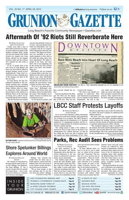 Grunion Gazette | April 26, 2012
