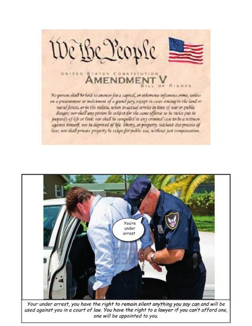 5th Amendment Comic Book