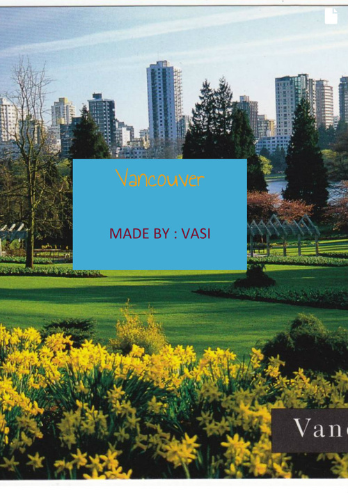 Vancouver !!!