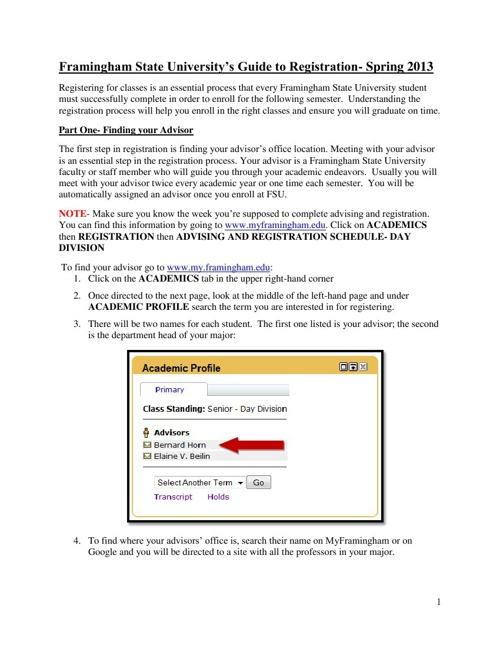 Registration Instruction Manual