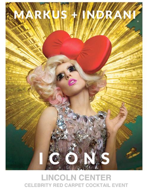 LINCOLN CENTER PRESENTS ICONS - CELEBRITY RED CARPET EVENT