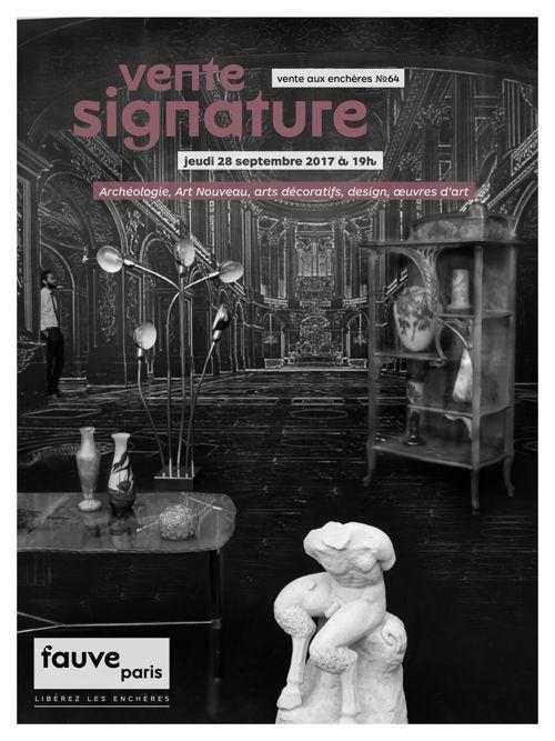 FauveParis   Vente signature   28 septembre 2017