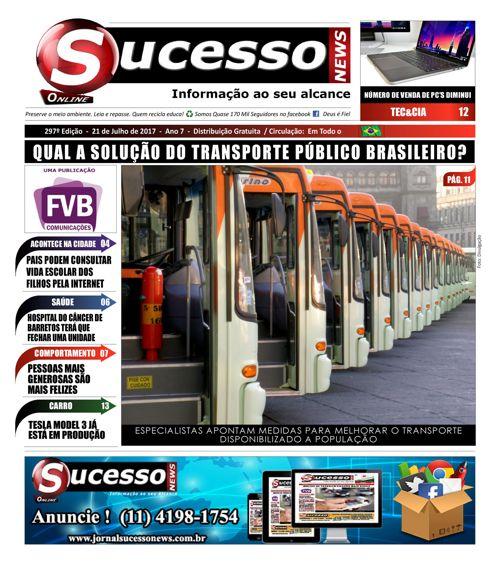 Jornal Sucesso News - Edição - 297 ONLINE