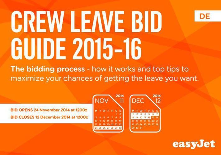 Crew Leave Bid - DE