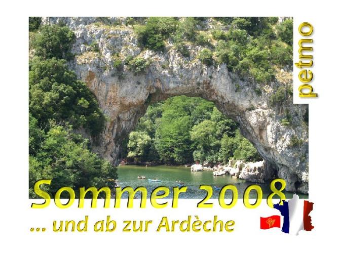 … und ab zur Ardèche