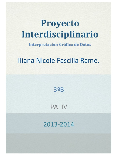 Iliana Proyecto Interdisciplinario