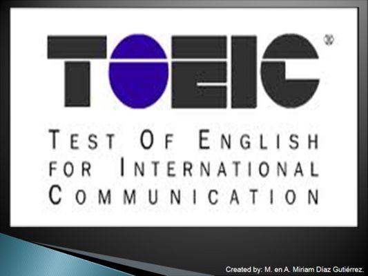 TOEIC TEST