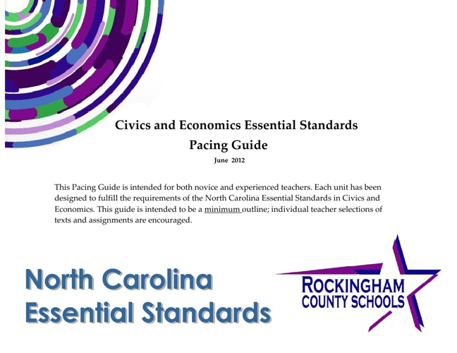 Civics & Government, Personal Financial Literacy, and Economics