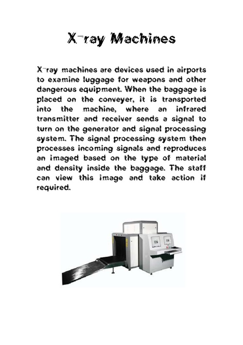 Airport Input and Output Devices