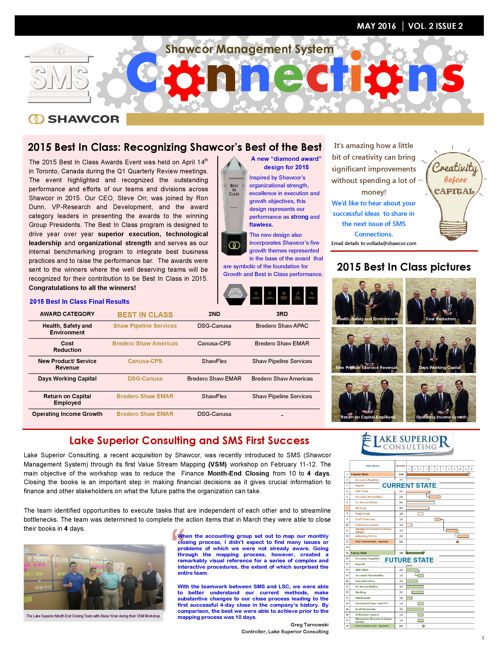 SMS Connections Q1 2016 - May Issue