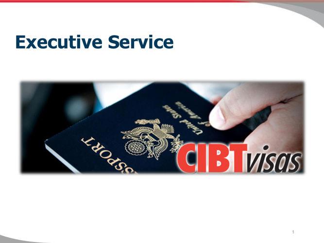 1. Executive Service (update)