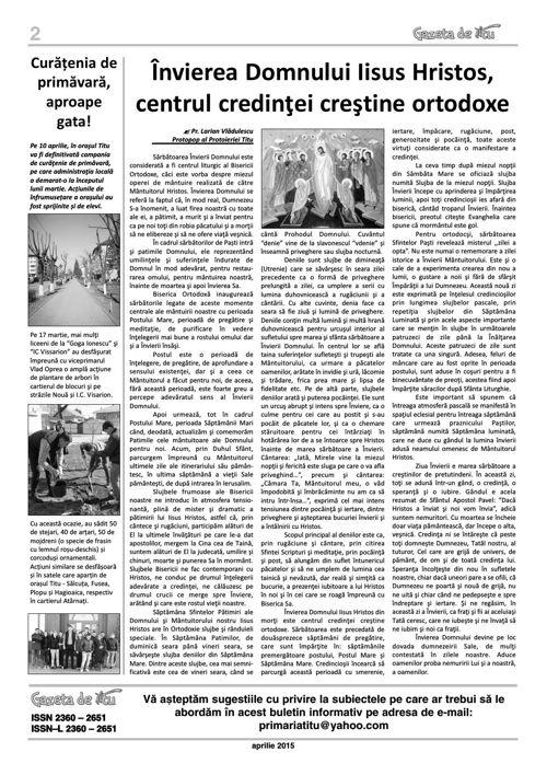 GAZETA DE TITU/NR11