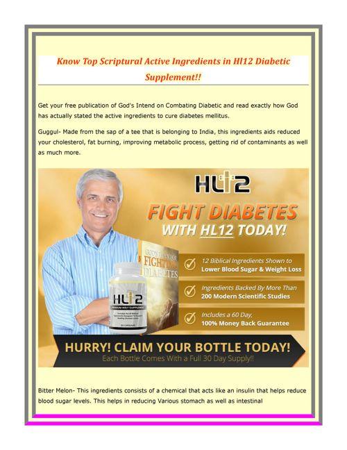 Hl12_Diabetic_Supplement
